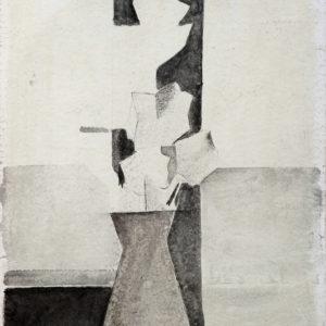 1970 Vaso con fiori