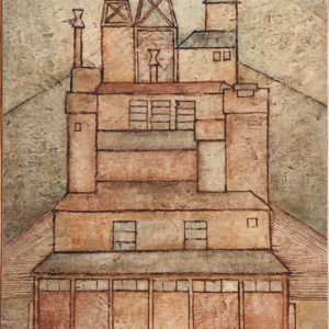 1962 Paesaggio con fabbrica