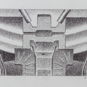 1989 Cartella Fiat Geotech – Bozzetto